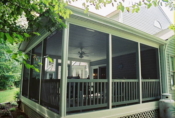 Image Result For Building A Screened In Porch On Existing Deck