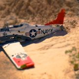 Drone Services - Tilt Shift of Airplane