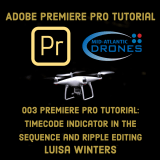 Premiere Pro – Timecode Indicator in the Sequence and Ripple Editing