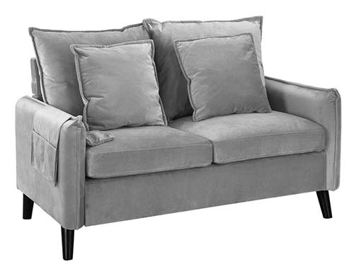 Casa Andrea Milano - Two Seat Loveseat - Gray