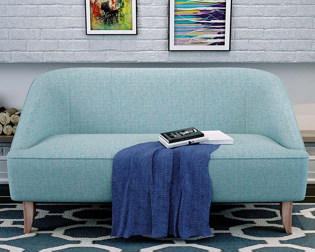 Christopher Knight Home Justus Loveseat Mid-Century - Featured