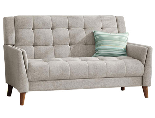 Christopher Knight Home Evelyn Loveseat Mid-Century - Beige