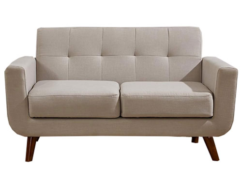 Container Furniture Direct - Rainbeau Loveseat - Tan