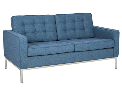 LeisureMod Florence 2-seater - Blue