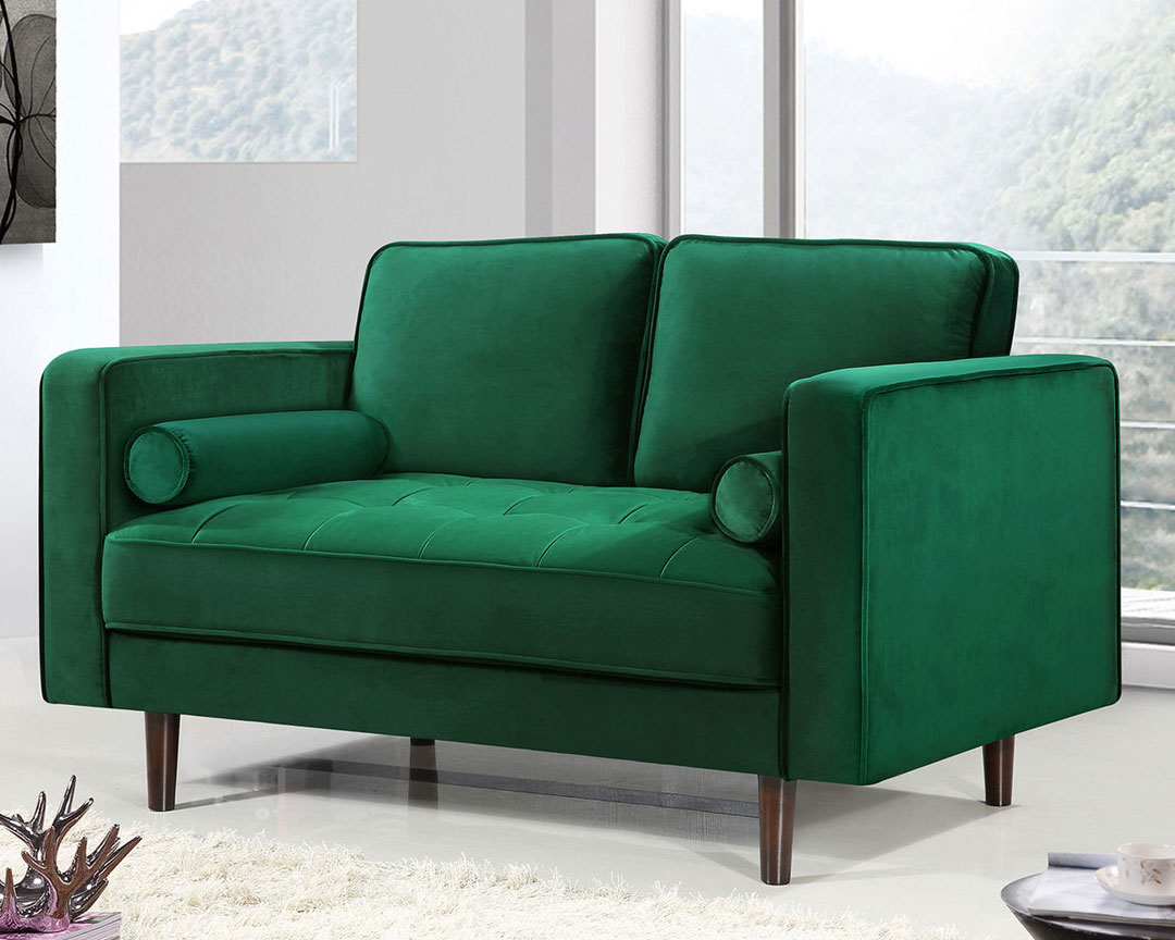 Meridian Furniture Emily Loveseat - Featured