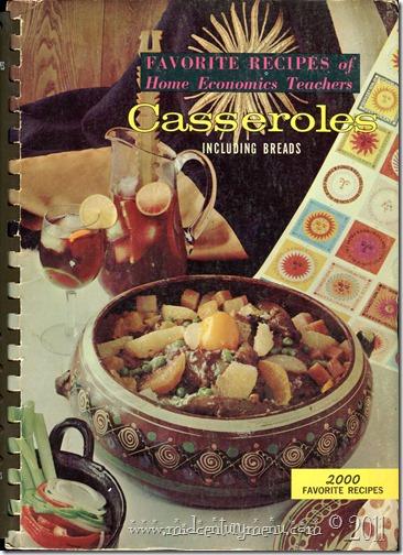 Favorite Recipes of Home Ec Teachers Casseroles001