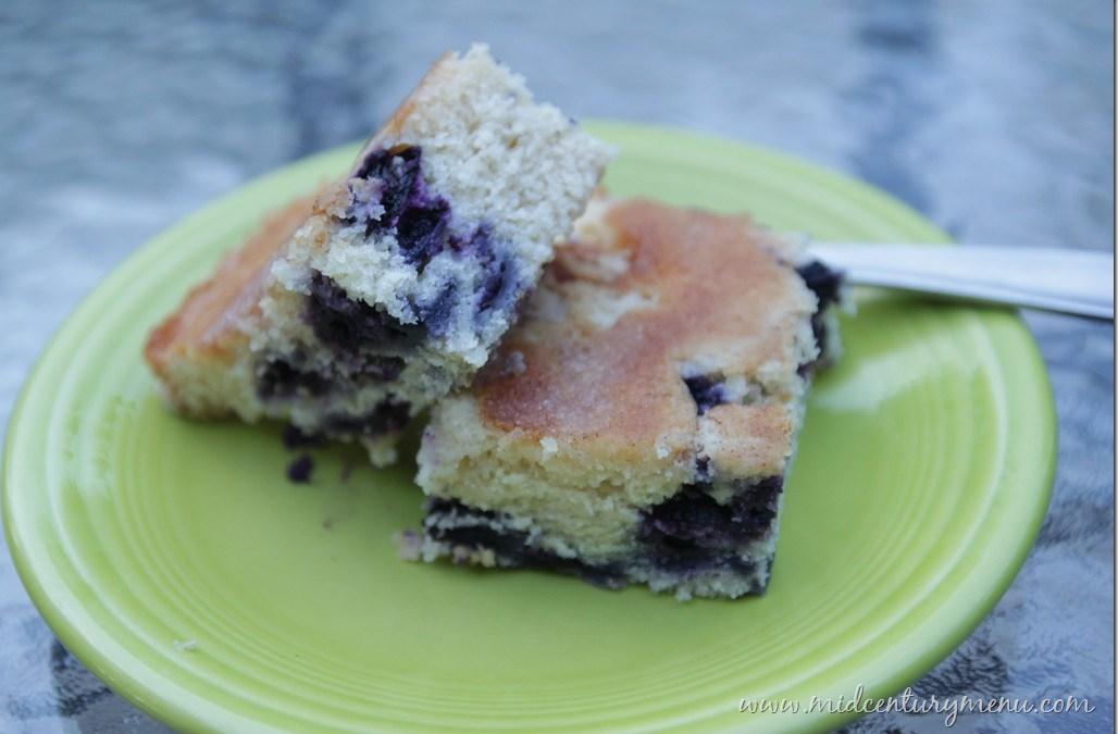 Blueberry Boy Bait –  A Retro Recipe Test