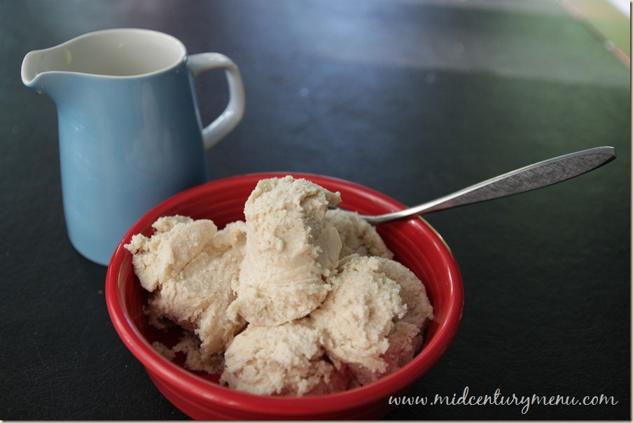 Chicken Ice cream