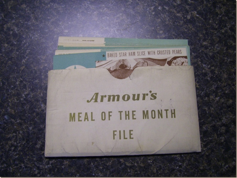 Armours Meal of The Month