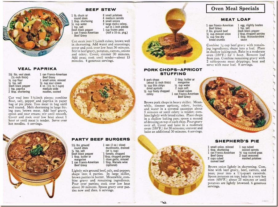 Franco American Recipes