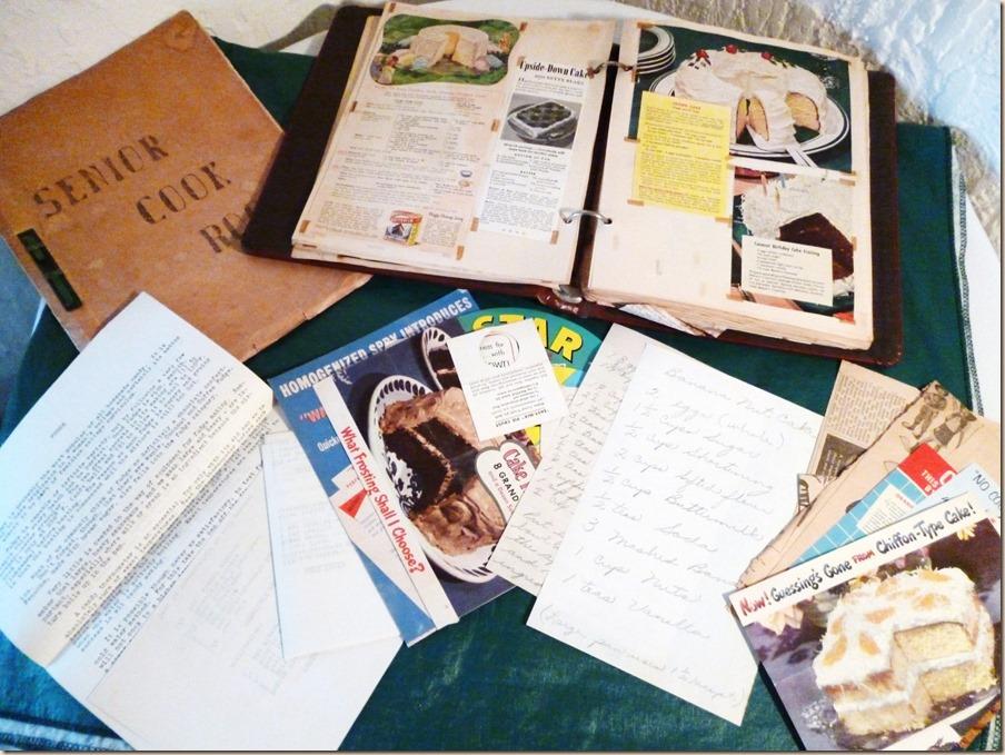 Cooking Scrapbook