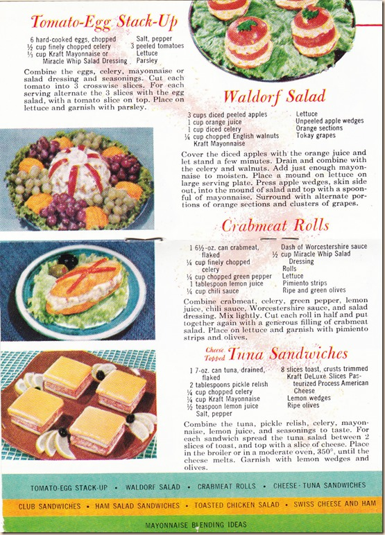 Salads and Sandwiches From the Kraft Kitchen II