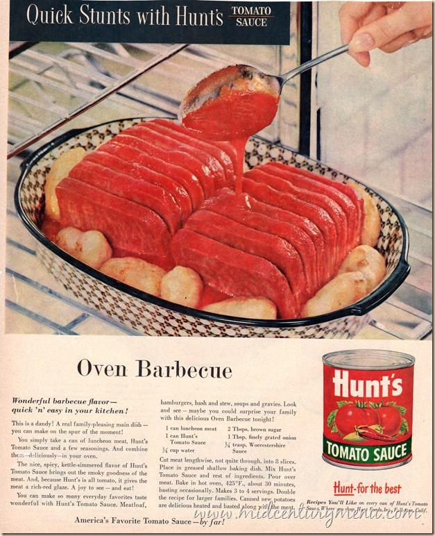 Oven Barbecue June 1956 BHG001