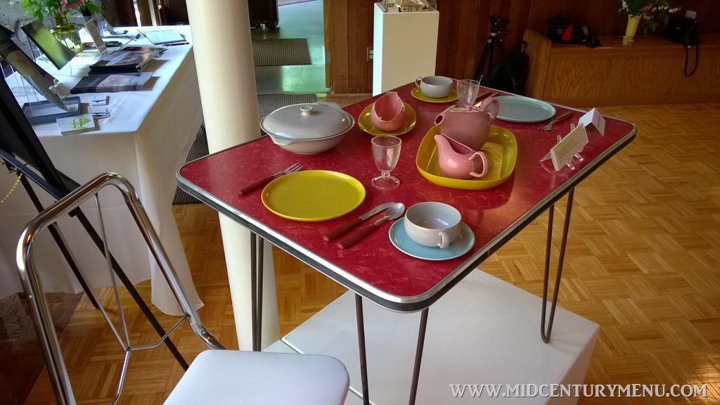 Dining Mid-Century Dish Exhibit in Ann Arbor