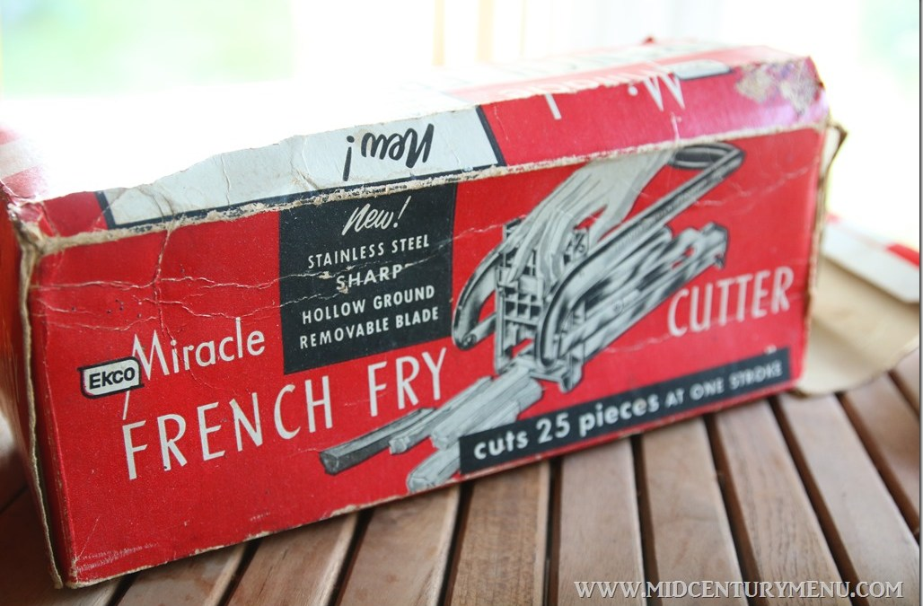 Homemade Freezer French Fries With A Vintage Ekco Miracle French Fry Cutter