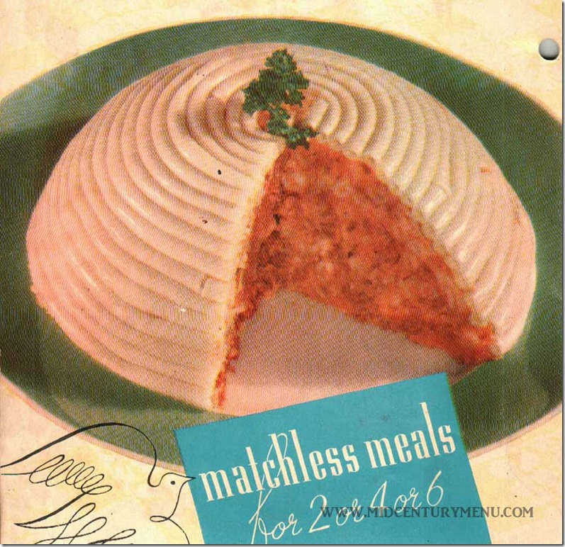 Beehive Salad II - Matchless Meals for 2 4 or 6, 1937