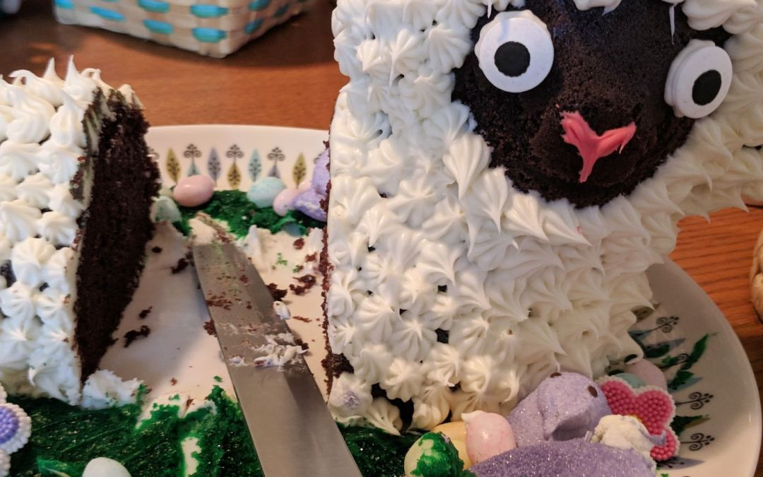A Few Extra Lambs For You – Lamb Cake Outtakes