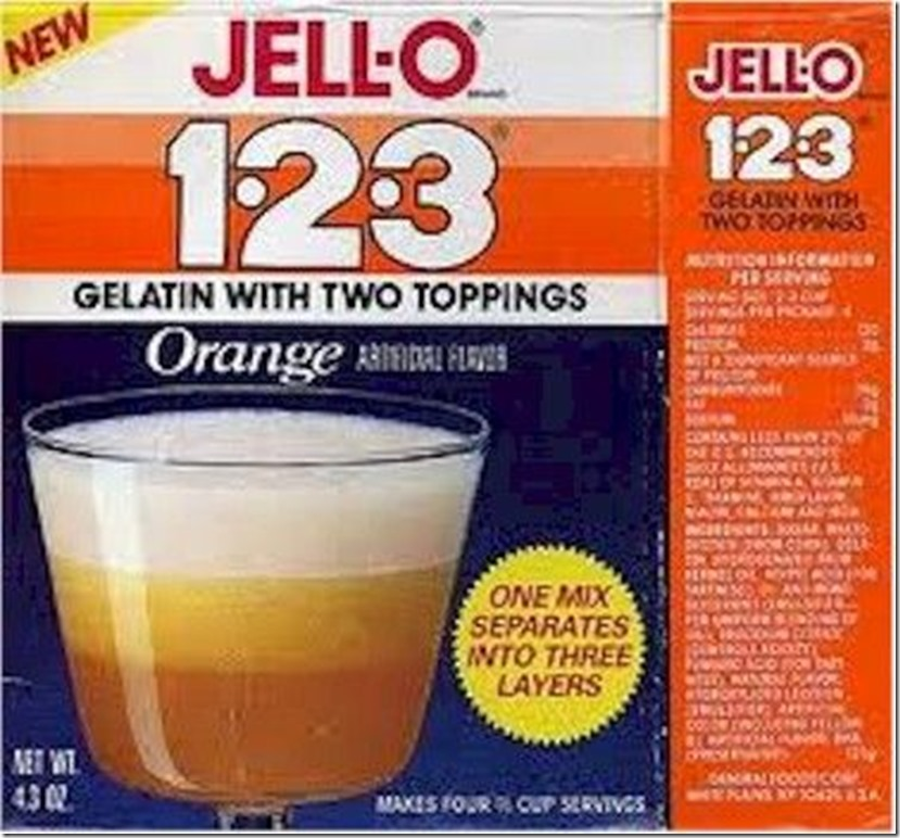 Orange jello 123