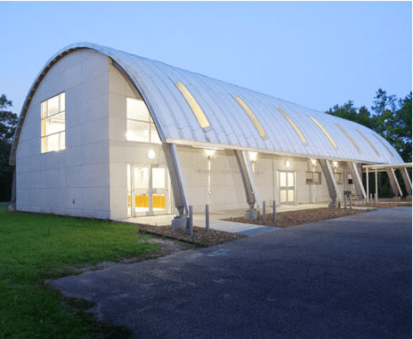 Quonset huts great idea for a tiny house modern tiny house for How to build a metal building home