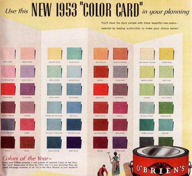 color add midcentury modern style
