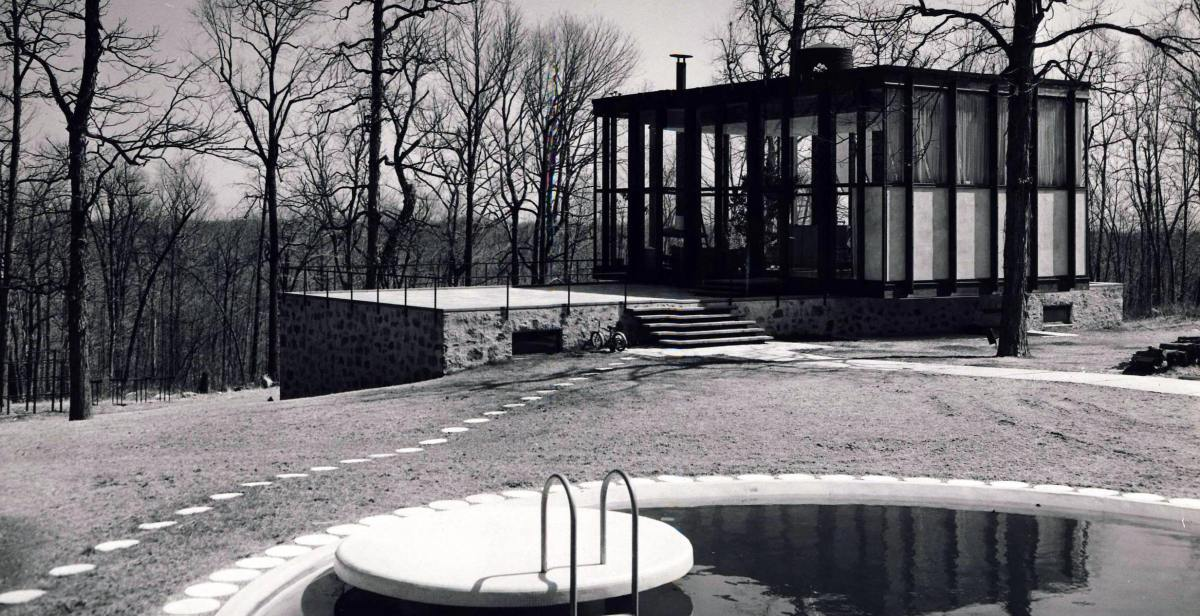 The Wiley House A Philip Johnson Masterpiece Mid