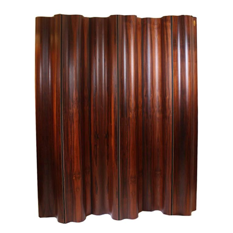 Eames Rosewood Molded Plywood Room Divider.