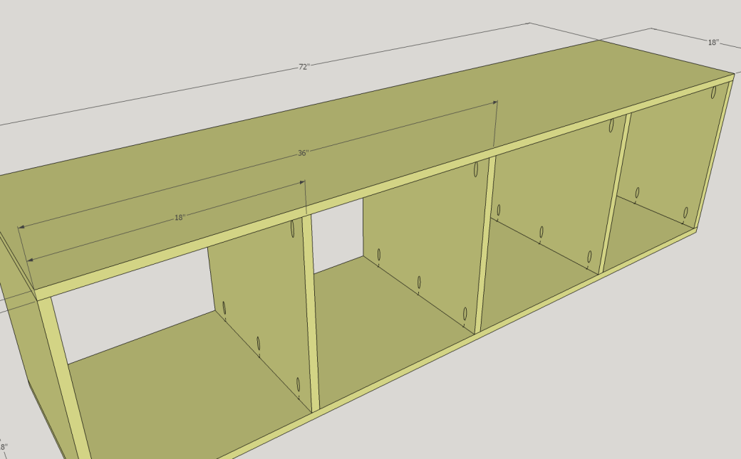 Placement of the Walls of the Compartment.