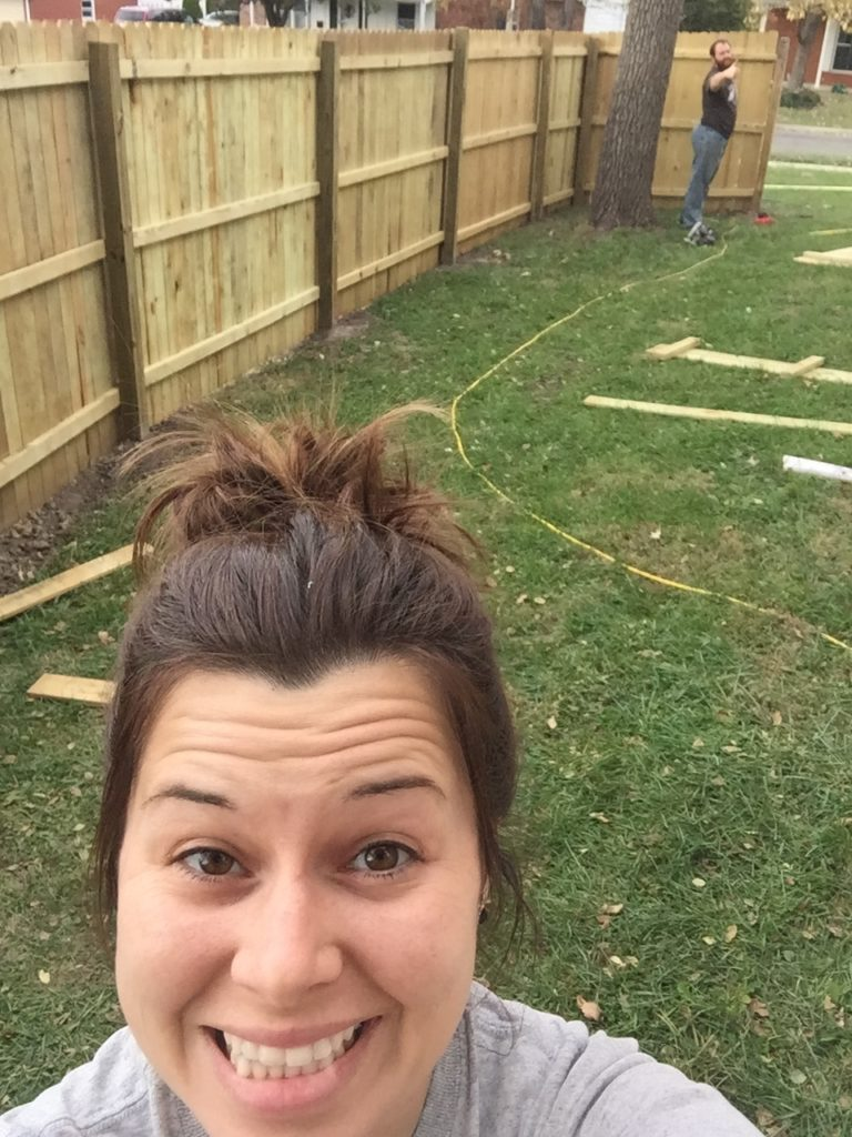 Holy Fence! DIY Privacy Fence