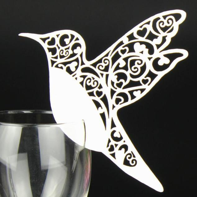 laser-cut-bird-place-card-wine-glass-card