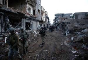 Turkish troops in Kurdistan
