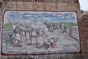 Anti-gun mural