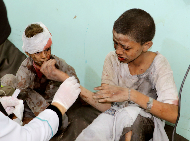 Bomb That Killed 40 Children In Yemen Supplied By The Us