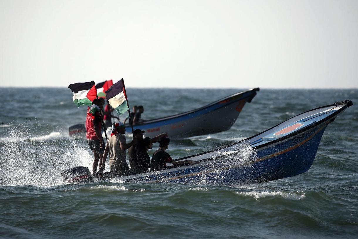 palestinians israel naval blockade gaza