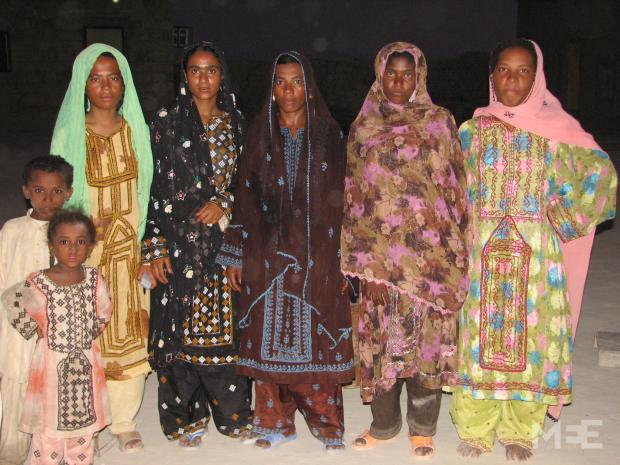 This was a photos taken from one of Mirzai's many trips to Iranian  Baluchistan on trips between 2006 and 2011 (Photo courtesy of Behnaz  Mirzai), The little-known descendants of black Iranians who are victims of the cruel Arabian slave trade