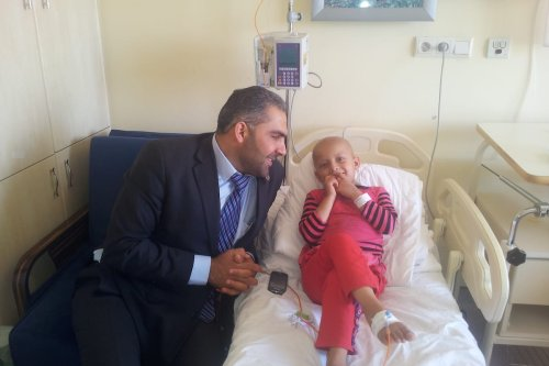 Syrian doctor Abdul Rahman Al-Zinou [Al-Amal Cancer Centre]