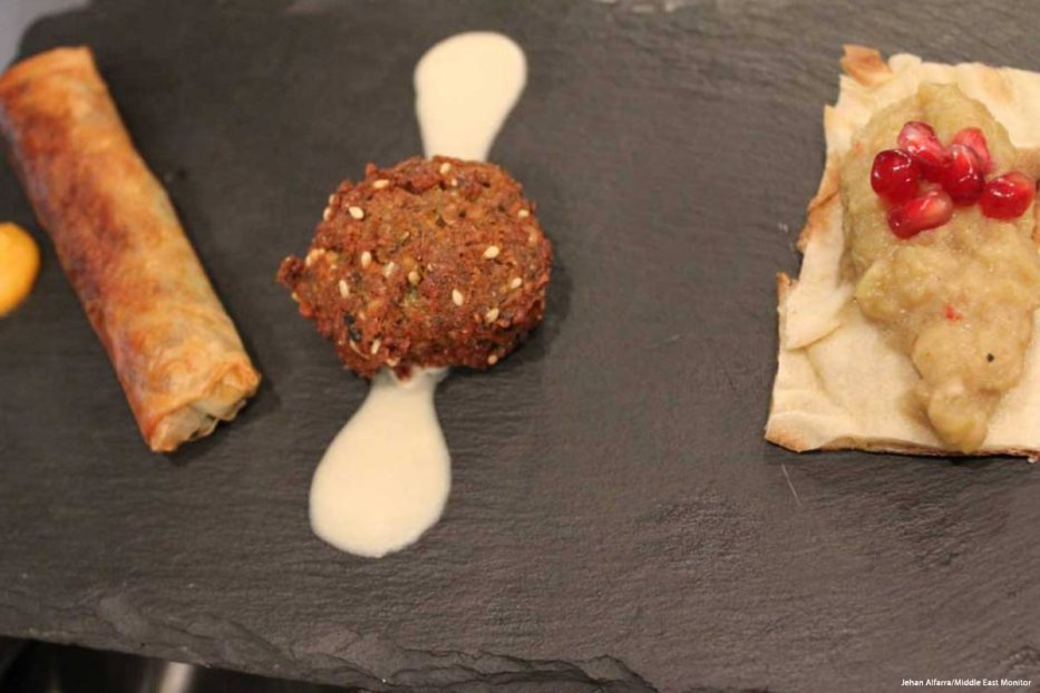 Iraqi cuisine at the JUMA Kitchen [Jehan Alfarra/Middle East Monitor]