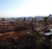 Car bomb kills 4 in refugee camp in Syria