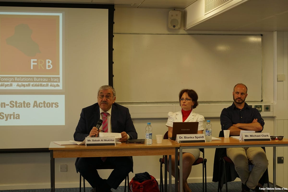 Middle East Near You Iraqis in UK discuss impact of Shia militias on the Middle East