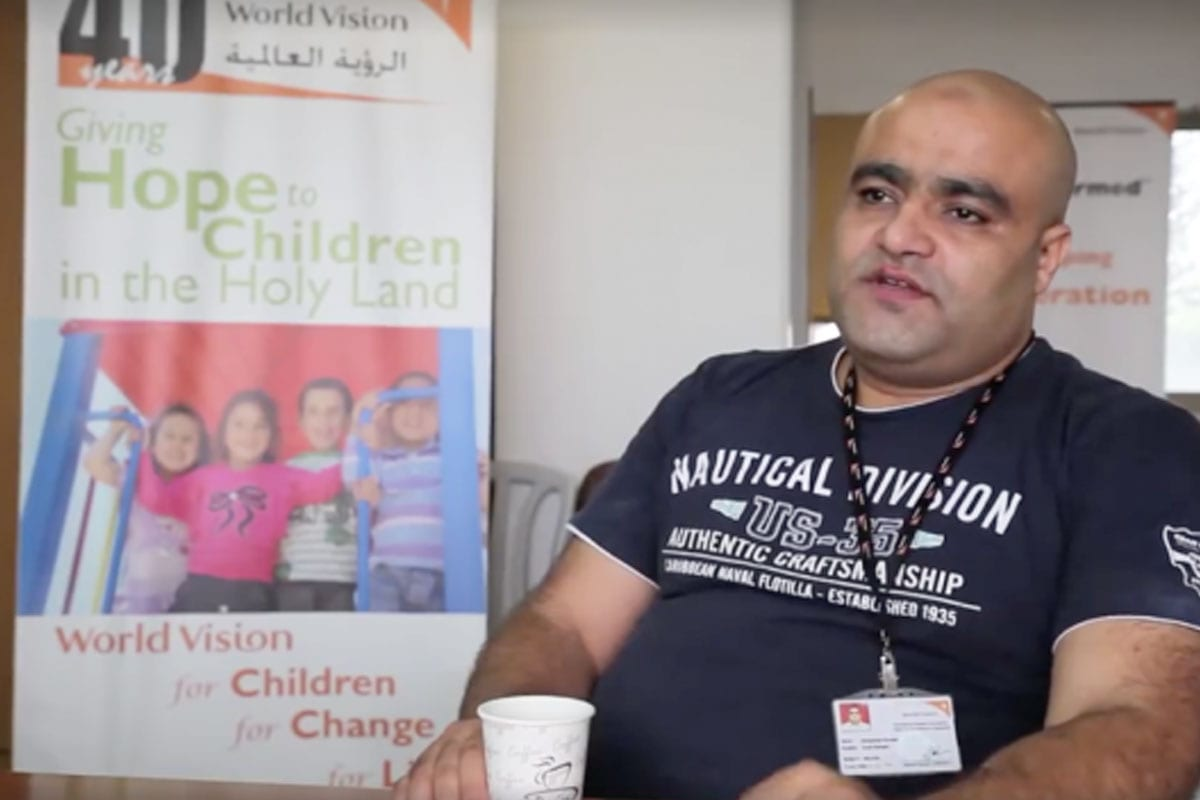 Image of Mohammed El Halabi, World Vision's area development programme manager [Mohammad Awed]