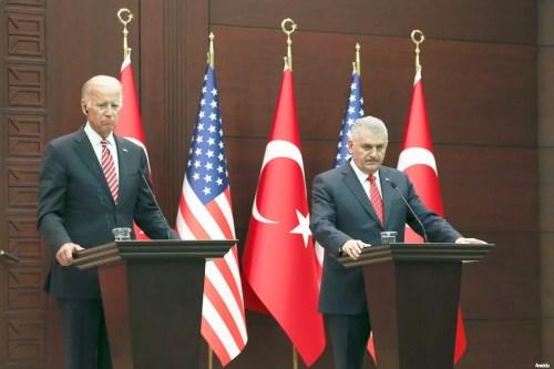 Biden: US is Turkey's closest ally