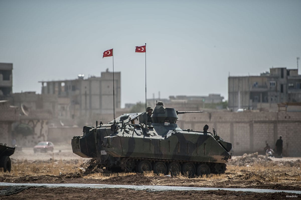 Turkish Armed Forces in northern Syria [File photo]
