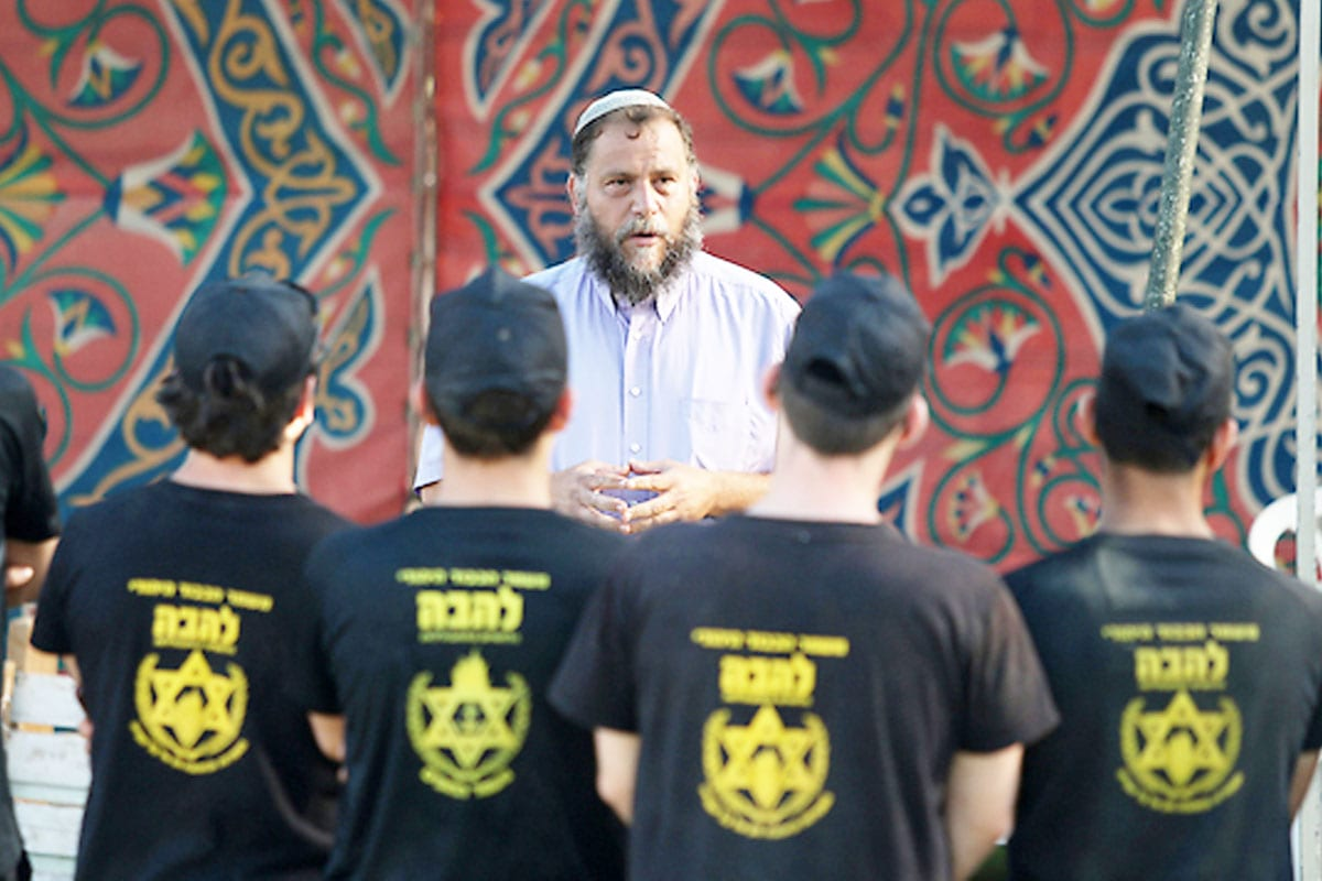 Picture-of-Bentzi-Gopstein-in-Summer-camp-teaching-Israeli-settlers-how-to-hate-Palestinians