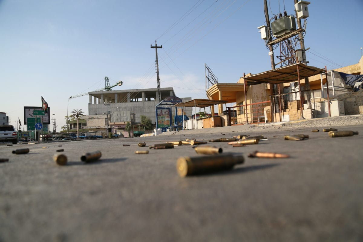 Iraqi Forces Battle ISIS in Western Town, Far From Mosul