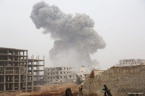 Opposition members attack Aleppo on 28th October 2016 [Beha El Halebi/Anadolu]