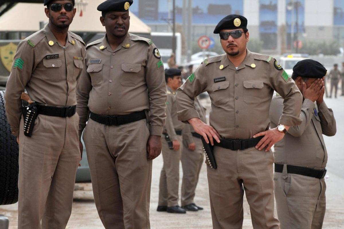 File photo of Saudi Arabian police taken in Riyadh in 2011 [Reuters]