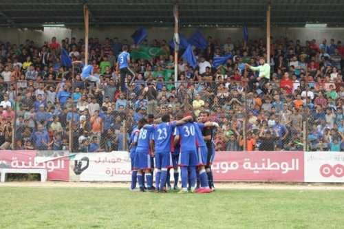 team Beach Camp (neigborhood in Gaza Strip) just before match (CREDIT- Samah Ahmed)