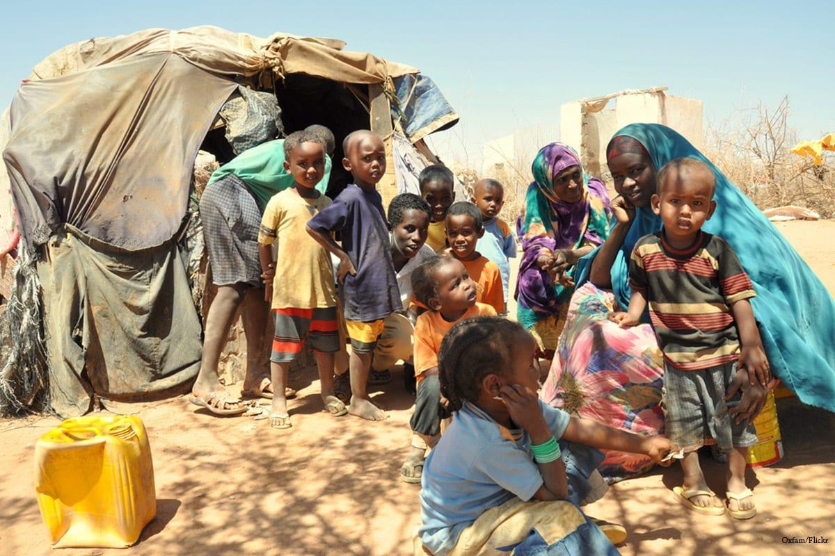 Oxfam Horn of Africa famine refugee camp [Oxfam/Flickr]