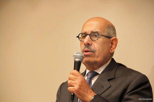 Mohamed ElBaradei [Ashraf Amra/Apaimages]