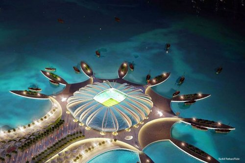 Qatar 2022 FIFA World Cup Stadium photo taken on 24th August 2014 [Kashif Pathan/Flickr]