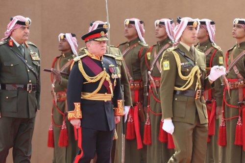 AMMAN, JORDAN: Jordan's King Abdullah II attends the State opening of the Parliament on 7 November 2016, in Amman, Jordan. [Salah Malkawi/Anadolu Agency]